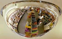 Bewakingsspiegel Se-kure Controls plafond  1/2 bol 66 cm